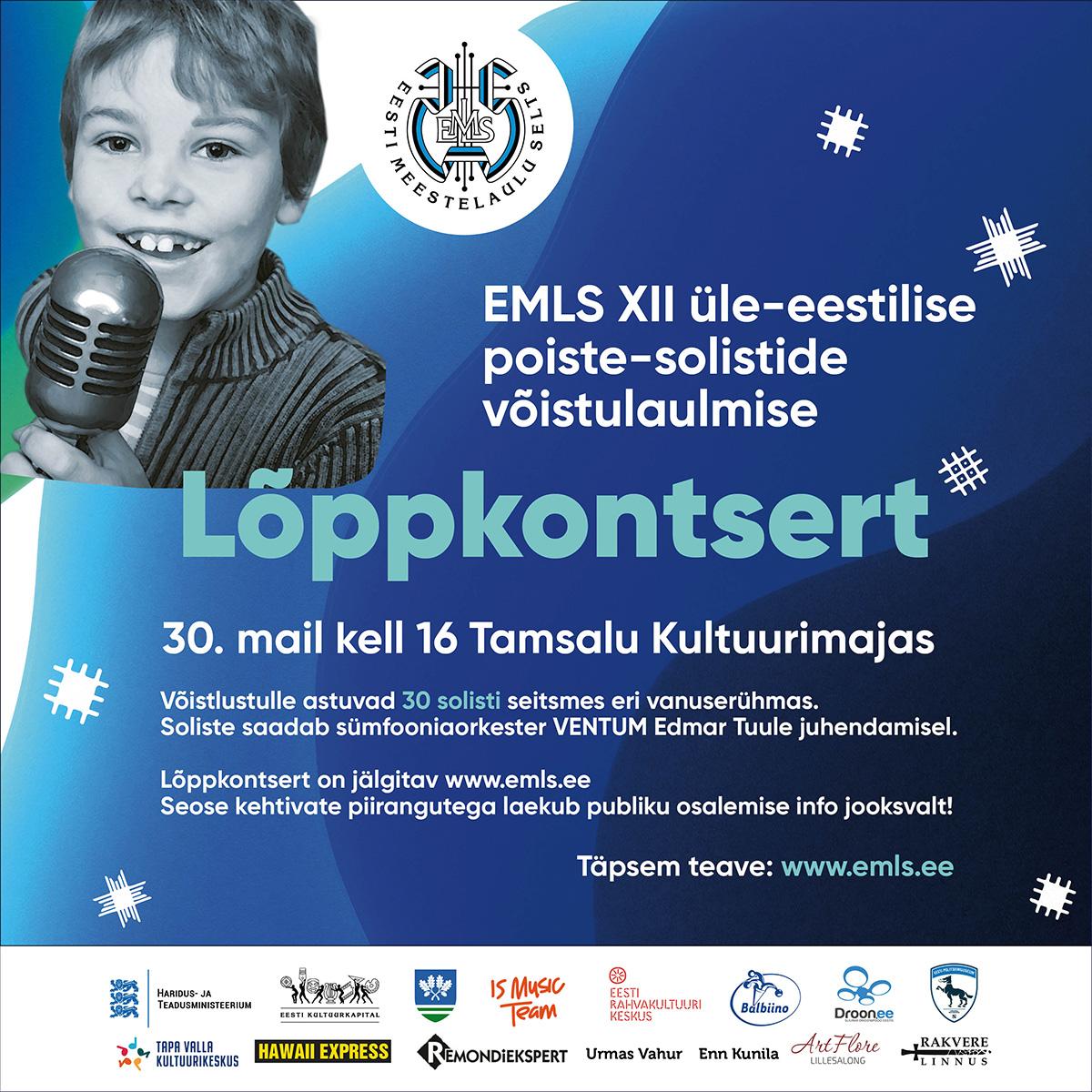 Eesti parimad meeshääled kogunevad Tamsalu kultuurikeskuses.